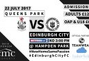 Supporter Information – Queens Park BetFred Cup Tie