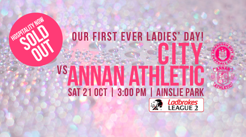 Ladies' Day is nearly here…
