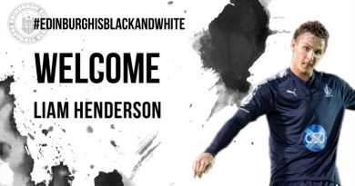 Welcome Liam Henderson!